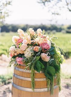 Sonoma Wedding from Jessica Burke + A Savvy Event | Style Me Pretty - Yes, yes, yes....EVERYTHING YES.