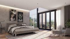 #house #modernhouse #modernhome #design Best Modern House Design, Modern Design, Modern Houses, House Styles, Bed, Room, Furniture, Home Decor, Modern Homes