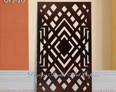 Etsy :: Your place to buy and sell all things handmade Garden Fence Art, Cnc Cutting Design, Laser Cut Panels, Thing 1, Panel Wall Art, Decorative Panels, Art Studios, Metal Working, Contemporary Design