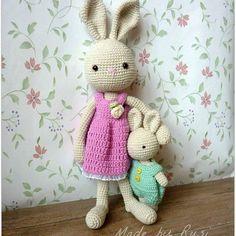 #crochet #crochetdolls #crochetbunny #crochetlove #amigurumi #rusidolls #madebyrusi