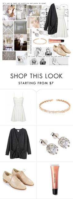 """I'm in love with you, why are these words so hard//Mark Tuan"" by daydreaminginthedark ❤ liked on Polyvore featuring Suzanne Kalan, Monki, Hobbs and Bobbi Brown Cosmetics"