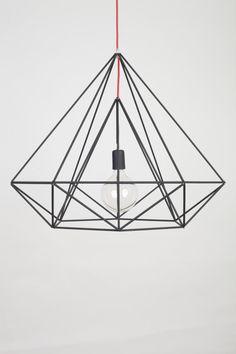 Himmeli Light Diamond Pendant Cage Black Matte _______________________________ Himmeli art  Himmeli is an art of connecting tubes and making