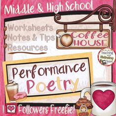 Here's a freebie from my poetry fun and collaboration bundle! Includes standards-based analysis and discussion resources including: Poetry Choice Sign-Up Forms Instructions for Teachers Reading Poetry Aloud Student Handout Student Directions and Rubric Preparatory Analytic Worksheet Packet for