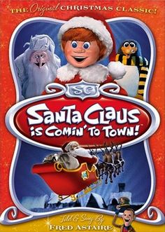 Santa Claus is Coming to Town (Rankin/Bass) - (Full Video), animated children's comedy/light drama
