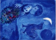 Marc Chagall - Blue Landscape - Pictify - your social art network