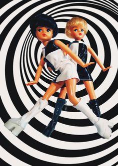 """""""1960s Mod Sindys"""" - Vintage Sindy facebook page. January 2013. #sindy"""