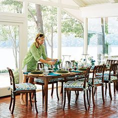 Casual Chic Lake House | Great Room Space | SouthernLiving.com