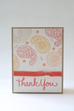 Available on Etsy: Thank You Card by BeyondTheReam