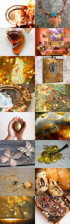 Golden Autumn by June Corst on Etsy--Pinned+with+TreasuryPin.com