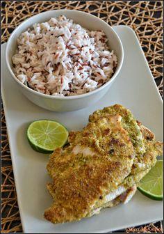 Sweet my Kitchen: Bifes de frango panados com mistura de sementes