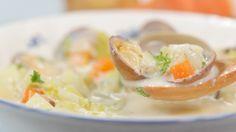 Clam Chowder Recipe クラムチャウダー 作り方 レシピ
