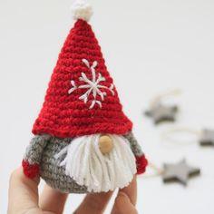 Amigurumi Crochet Woodland Christmas Ornament Pattern Set Digital ... | 236x236
