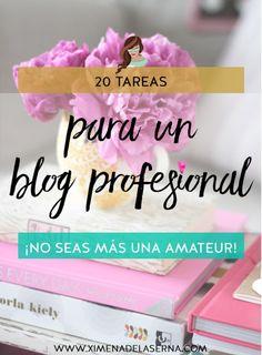 Cómo crear un blog profesional: 20 tareas para lograrlo (y dejar de ser amateur)