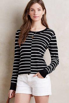 Mismatched Stripe Pullover