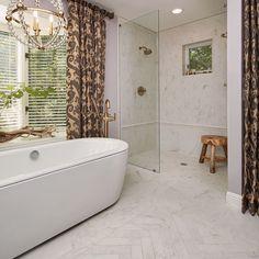 New Trends in Tile Design for the Bathroom - Crossville Studios