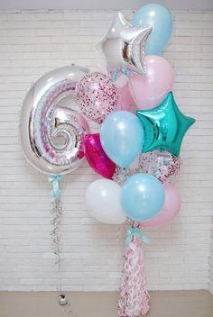 Ideas rainbow birthday party decorations diy for 2020 Frozen Themed Birthday Party, Rainbow Birthday Party, Unicorn Birthday Parties, Birthday Balloons, Unicorn Party, Birthday Morning, Diy Birthday, Birthday Cartoon, Barbie Birthday
