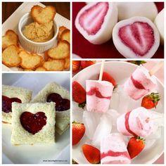 25 Healthy Snacks for Children for Valentine's Day