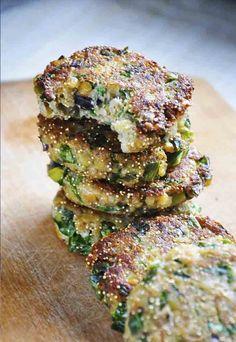 Protein Power Lentils and Amaranth Patties | Gourmandelle.com Instead of potato use daikon/turnip