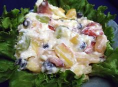 Summertime or Anytime Fruit Salad  #recipe #justapinch