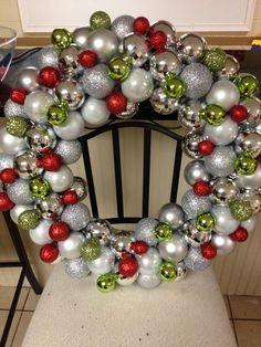 Christmas Ornament Wreath More