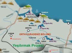 orta Karadeniz bölümü