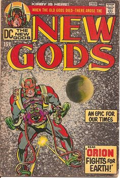 Up for your consideration isNew Gods 1 FN 1 Book Lot Marvel! By Jack Kirby! New Gods 1 FN (Cover 2 Pages Detached,Top Staple). All given grades are estimated CGC grades if the given book was certified. Comic Book Artists, Comic Artist, Comic Books Art, Comics For Sale, Fun Comics, Jack Kirby Art, New Gods, Classic Comics, Vintage Comics