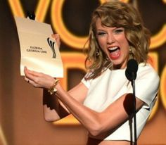 taylor swift acm 2014