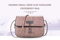 ee4b63d179 Guapabien Women Small Deer Flap Crossbody Shoulder Bag Free Shipping to USA  only