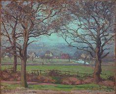 Camille Pissarro - Bei Sydenham Hill (gegen Lower Norwood gesehen)