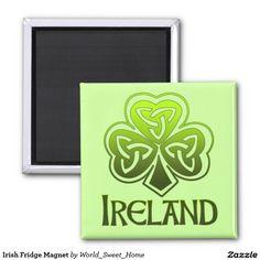 #Irish Fridge Magnet