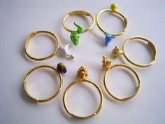 Animals rings by MOTO NAKABA