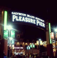 Pleasure Pier. Galveston, TX.