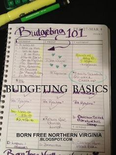 Born Free: How to Create a Budget: Easy, Step by Step Directions. Complete One Step a Week! Budgeting, Budgeting Tips, #budget