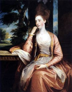 Sir Joshua Reynolds - Catherine Lady Cornewall c. 1775