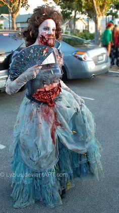 Victorian Zombie by PlaceboFX.deviantart.com on @DeviantArt