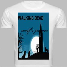 Lazycrazzy offers this white round neck half-sleeved T-shirt for the horror fiction lovers. Wearing this Halloween print depicting the spirit of werewolves on a dark night out might make your friends real eerie.