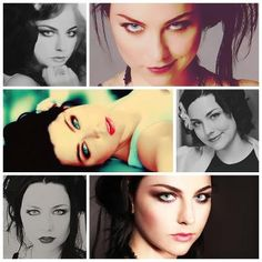 Amy Lee has the most amazing voice i have ever heard! and pretty eye make-up. :)