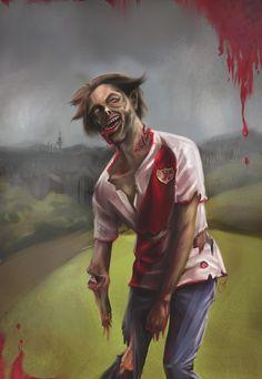 Zombie Day Generación X Vallekas en Behance