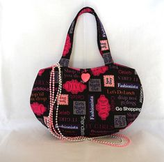 Girls bag Diva handbag Little girls purse by RobynFayeDesigns, $25.00