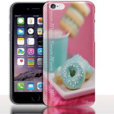 Coque iPhone 7 Donut Mania Rose|Coque Fine iPhone 7, iPhone 7 Plus|Rigide ou Silicone