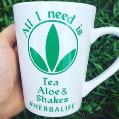 Herbalife Superpower Skinny Tumbler-Herbalife by DelleaDesigns