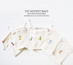 DIY Advent Bags, Take 2 — Lindsay Stephenson #carlychristmas