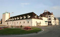 Buildings of Chartreuse Diffusion,Voiron, Alps, France #liqueur #monks
