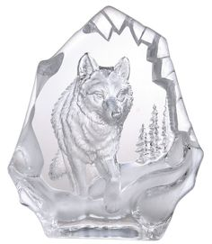 Crystal - Wolf in Blue Gift Box 31,80€