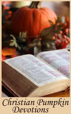 Devotion: How is Carving a Pumpkin Like Being a Christian?