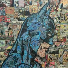 Mike Alcanatara creates these incredible collages using actual comic books. Mike doesn't use any paint or markers in his work, preferring to use n...