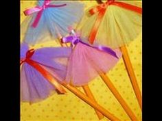 How to Make a Tutu Pencil Day 3 - YouTube