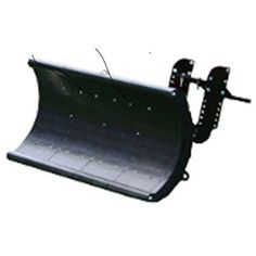 "Nordic Auto Plow Lightweight Rounded Edge 49"" Snow Plow: EZ-GO Golf Carts - NAP-GE3"