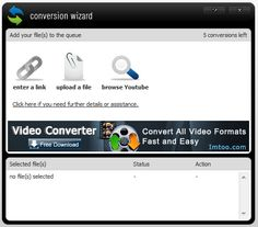 save YouTube videos to your desktop!  MediaConverter.org the fastest free online audio & video converter
