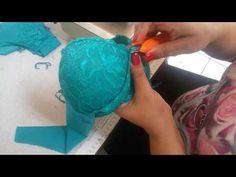 sutiã strappy Parte 1...Corte - YouTube